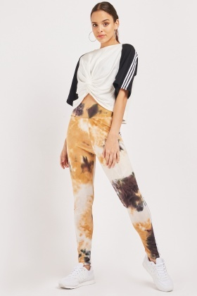 Tie Dye Sports Leggings