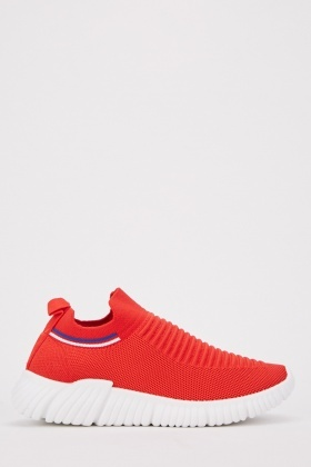 Ribbed Front Trainers