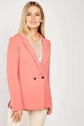 Double Breasted Azalea Blazer