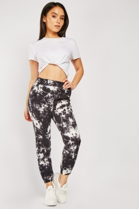 Casual Tie-Dyed Joggers