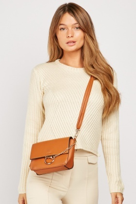Light Beige Knit Jumper