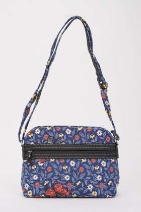 Butterfly Mixed Print Bag