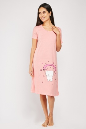 Novelty Animal Print Cotton Night Dress $6.70