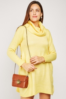 Roll Neck Jumper Dress $6.70