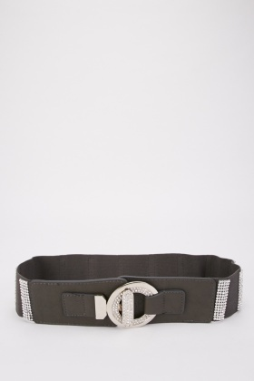 Encrusted Chunky Belt