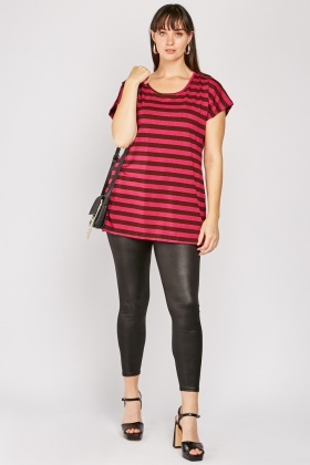 Lurex Stripe Top