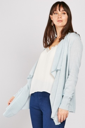 Lurex Waterfall Cardigan