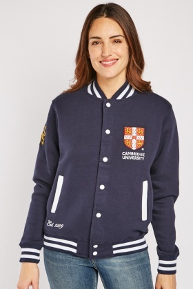 Unisex Cambridge Varsity Jacket $6.90