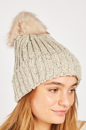 Sequin Shimmery Beanie Hat
