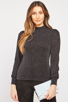Speckled Glitter Top