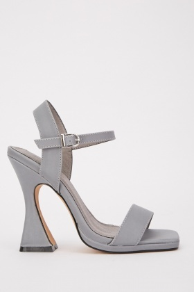Ankle Strap Chunky Strap Heels