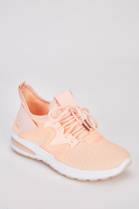 Contrasted Running Trainers $7.00