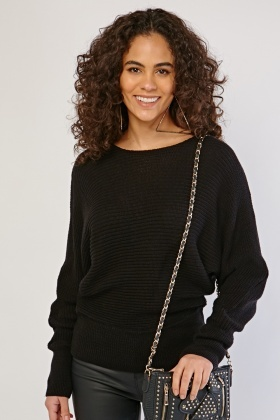 Chunky Crew Neck Knit Jumper
