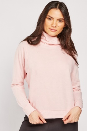 Slouchy Neck Sport Top