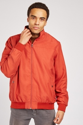 Mens Zipped Front Jacket