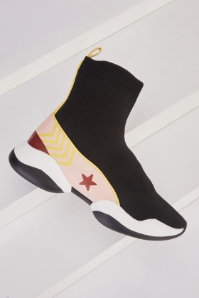 High Top Sock Trainers