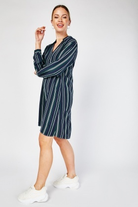 Johnny Collar Shirt Dress