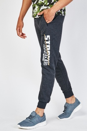 Printed Mens Cotton Joggers