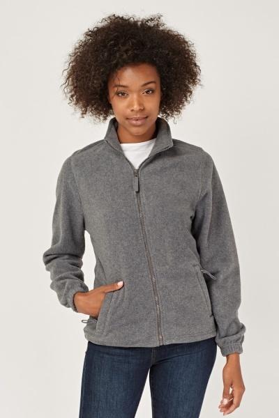 CHEAP Zip Up Fleece Jacket 28585876997 – Women's Outerwear