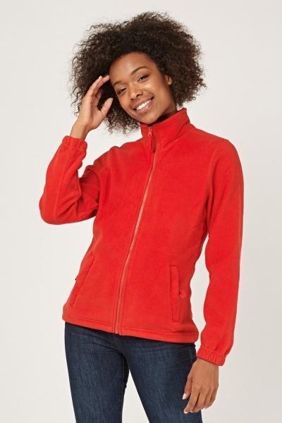 CHEAP Zip Up Fleece Jacket 28585876969 – Women's Outerwear