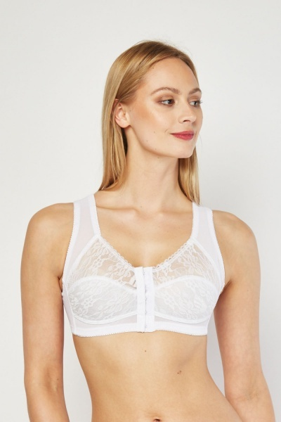 Light Padded Lace Cup Bra