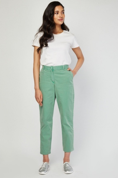 CHEAP Casual Chino Trousers 27654805627 – Women's Trousers