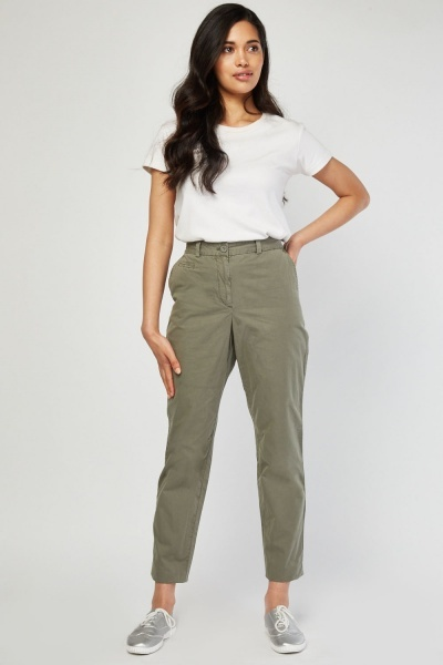 CHEAP Casual Chino Trousers 27654805685 – Women's Trousers