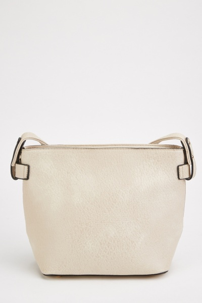 textured shoulder bag