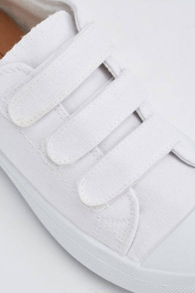 White Low Top Trainers