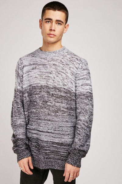 Gradient Loose Knit Jumper