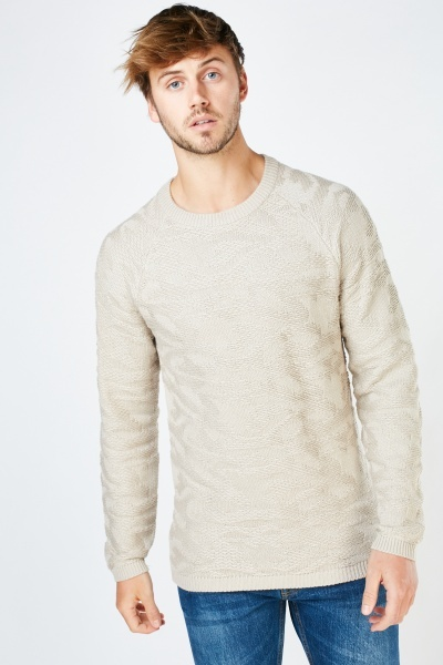 Textured Pattern Jumper