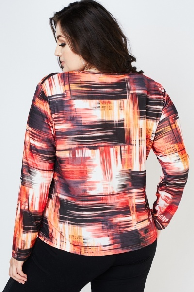 Abstract Art Print Top