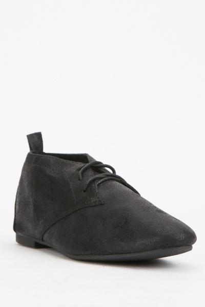 Black Lace Up Shoes
