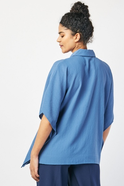 Oversized Short Sleeve Box Top