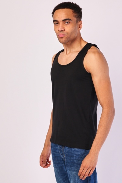 Pack Of 2 Stretch Tank Top