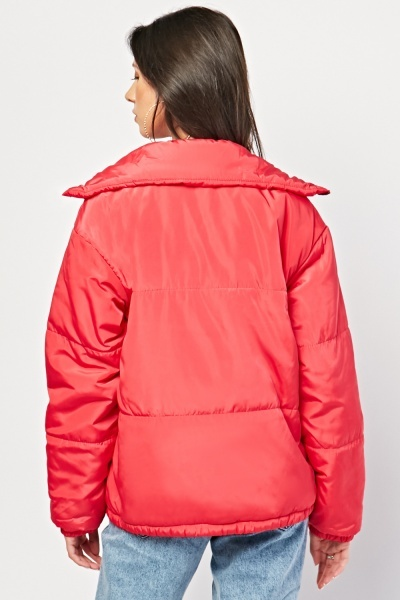 Watermelon Puffer Jacket