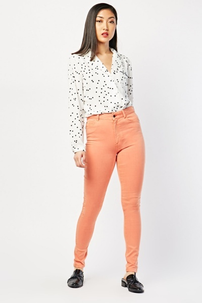 Super Skinny Plain Trousers
