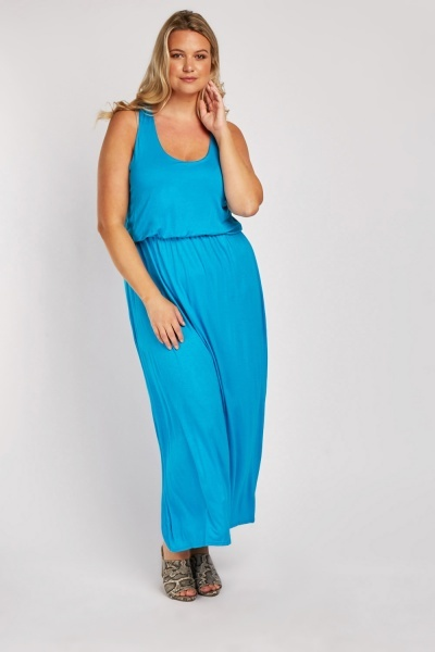 Pack Of 2 Scoop Neck Maxi Dress