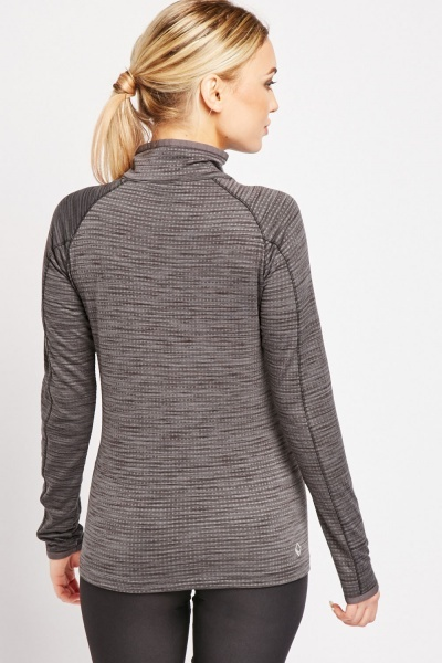 Zip Up Sports Jumper