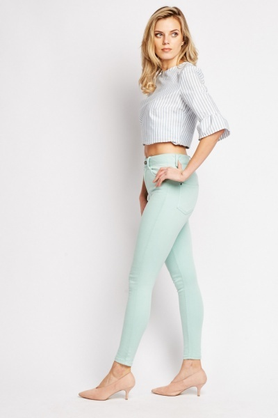 Super Skinny Plain Jeans