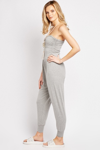 Pack Of 2 Bandeau Jumpsuit Set