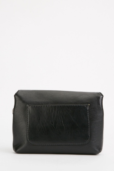 Monochrome Detail Front Bag
