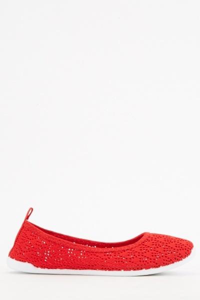 Basic Knitted Plimsolls