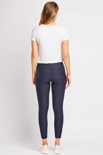 High Rise Skinny Jeggings