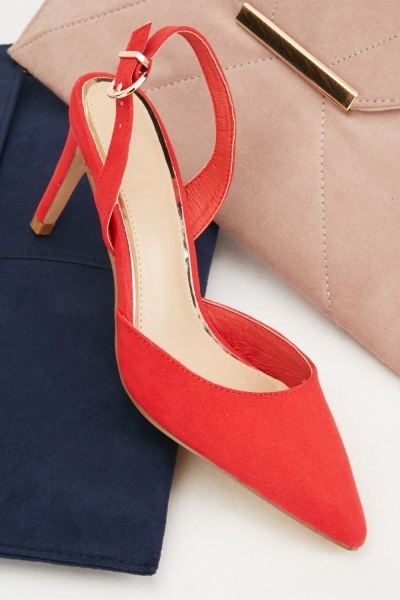 Pointed Toe Strappy Heels