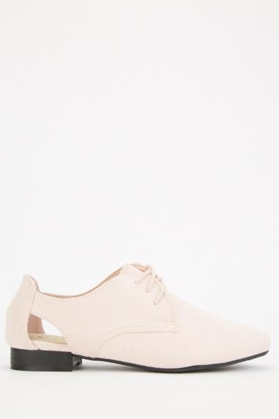Cut Out Side Shoes