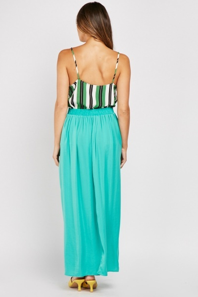 Maxi Skirt With Slit Side