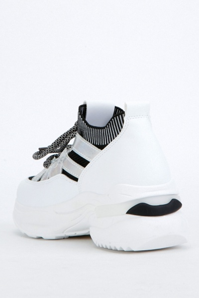 Sock Insert Contrasted Chunky Trainers