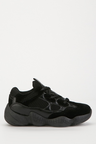 Chunky Perforated Trainers