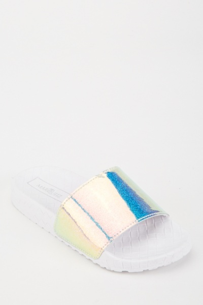 Holographic Effect Sandals